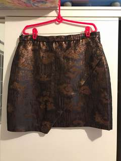 H&M front flap Skirt