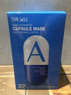Dr. Wu capsules face  mask 22 pcs in a box