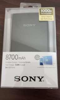 Sony 8700mAh外置叉電
