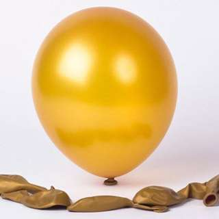 Gold 12inch balloon