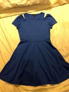 F21 Royal Blue Dress