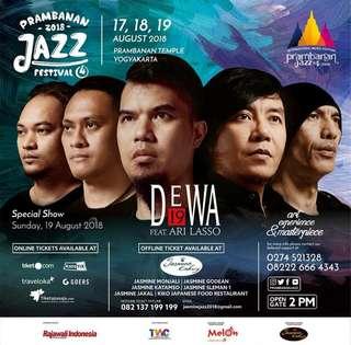 Prambanan jazz ticket