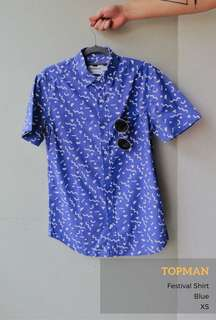 Topman Festival Short Sleeve Shirt