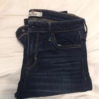 Hollister Dark Blue Jeans