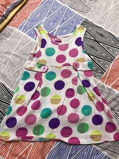 Sleeveless Dress 12-24 mths