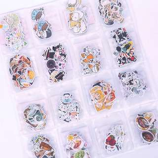 [ po ] kawaii sticker flakes