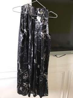 🚚 Balenciaga 巴黎世家黑色絲質洋裝