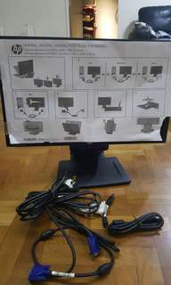 Brand new HP Compaq LED monitor