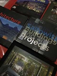 ARCHITECTURE BOOKS FOR SALE