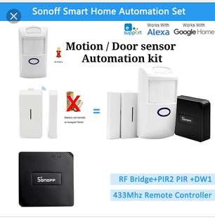 Sonoff Bridge 433 Smart home Sensor/ full automation set