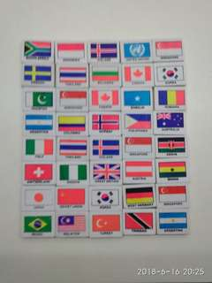 40 Country Erasers