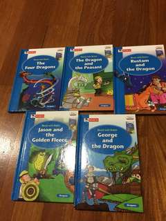 Read with robin: dragon series 5 books