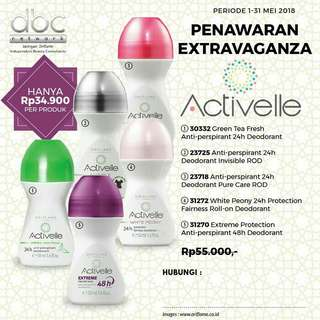 Oriflame Deodorant Roll On Activelle