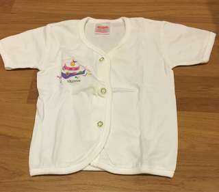 Tollyjoy kid button short sleeves shirt
