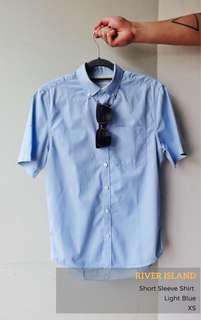 River Island Short Sleeve Shirt - Slim Fit