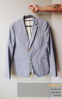 Topman Casual Floral Suit