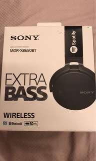 Sony MDR-XB650BT Wireless Stereo Headset