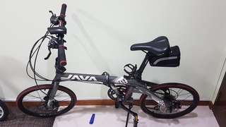 Java Fit 16 Speed (Folding Bike)