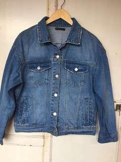 MANGO Light Blue Denim Jacket