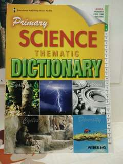 Science thematic dictionary