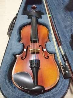 1/10 size student violin