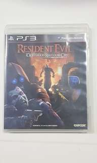 PS3 Game - Resident Evil Operation Raccoon City