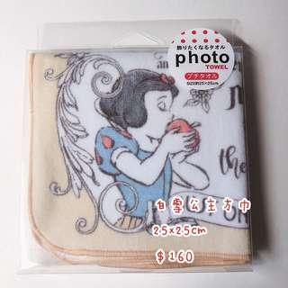 【現貨】日本 白雪公主方巾 日本代購 迪士尼