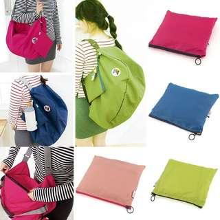 Multi way foldable Backpack, shoulder bag