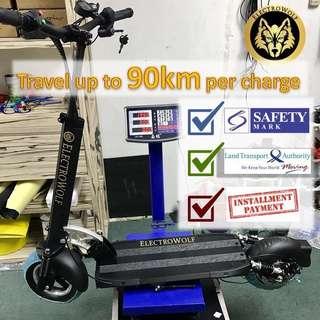 Cash installment for Lta Compliant Electric scooter