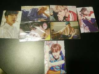 [√] BTS CARDS