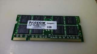 1G DDR2 notebook ram