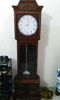 Vintage Grandfather Antique Clock