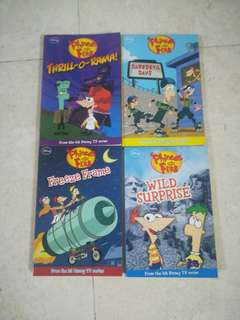 Phineas and Ferb books
