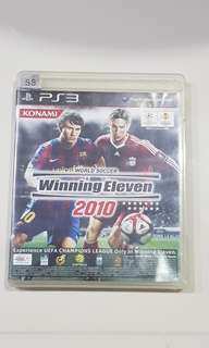 PS3 Game - Winning Eleven 2010