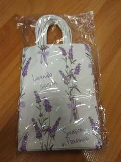 Lavender paperbag for wedding & door gifts