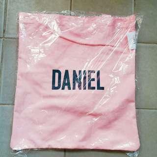 wanna one 姜丹尼爾 daniel lap 環保袋