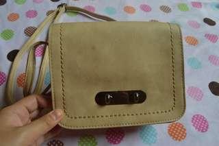 Sling Bag Cream Small
