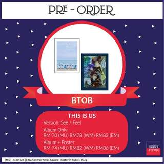 (PRE-ORDER) BTOB - THIS IS US