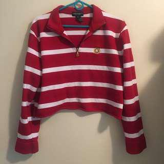 Cropped Vintage Ralph Lauren Quarter Zip