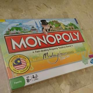 New in Sealed Monopoly Malaysia Edition Hasbro