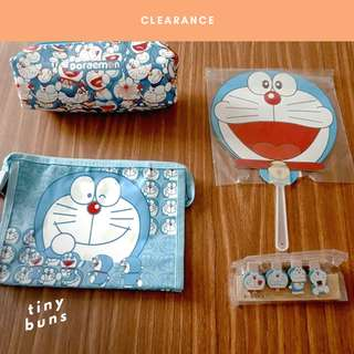 Assorted Doraemon Merchandise