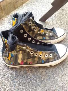 Converse High-cut Sneakers, Peel-off Style