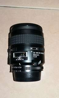 Nikon af macro 60mm f2.8