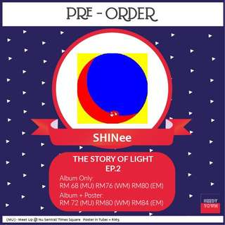 (PRE-ORDER) SHINee - THE STORY OF LIGHT EP 2