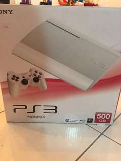PS3 Super Slim (White)
