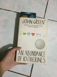 An Abundance of Katherines (John Green)