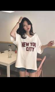 🚚 NEW YORK CITY字母上衣#畢業一百元出清