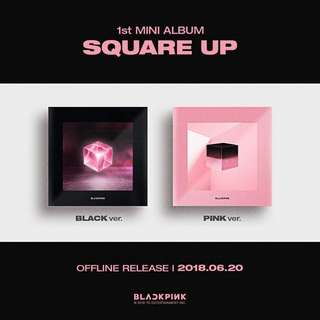 "[PRE-ORDER] BLACKPINK 1st mini album ""SQUARE UP"""