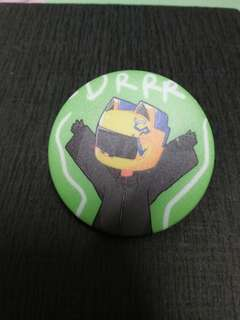 Anime Badges - Durarara (Celty Sturluson)