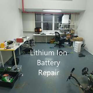 Lithium battery repair repack testing service for ebikes escooters